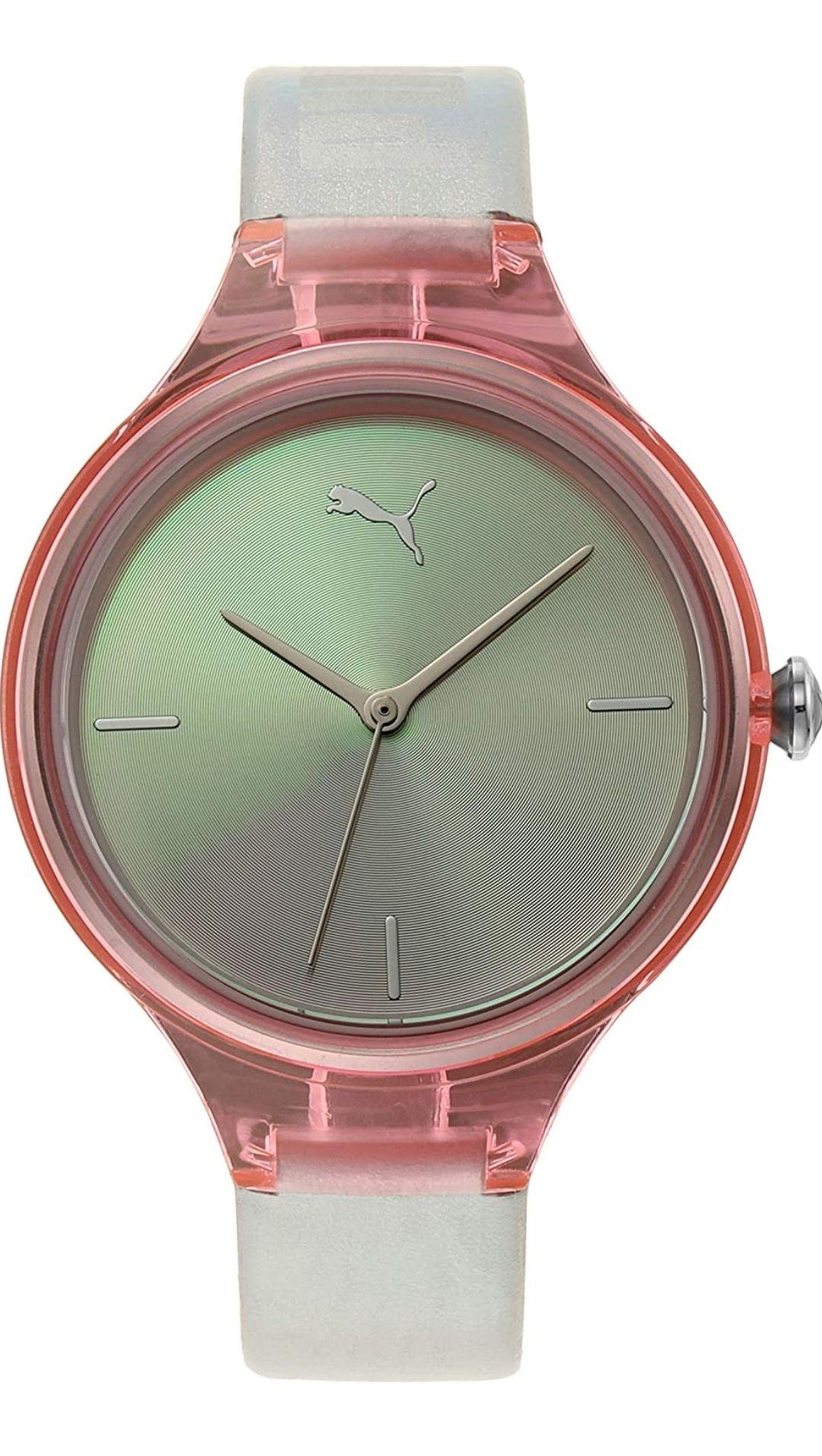 Amazon: Reloj Puma P1030 Contour para Dama