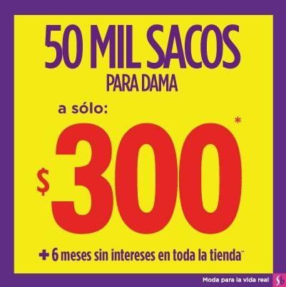 Suburbia: sacos a $300 y blusas a $125