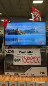 "Soriana: Pantalla Vios de 39"" Smart TV a $3,990"