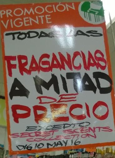 Comercial Mexicana: Fragancias a mitad de precio, desde $59.50