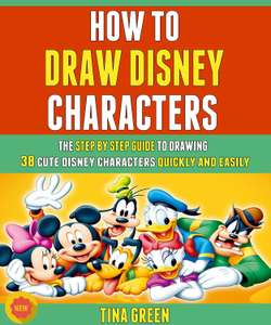 Amazon Kindle: Recopilación How To Draw Disney Characters