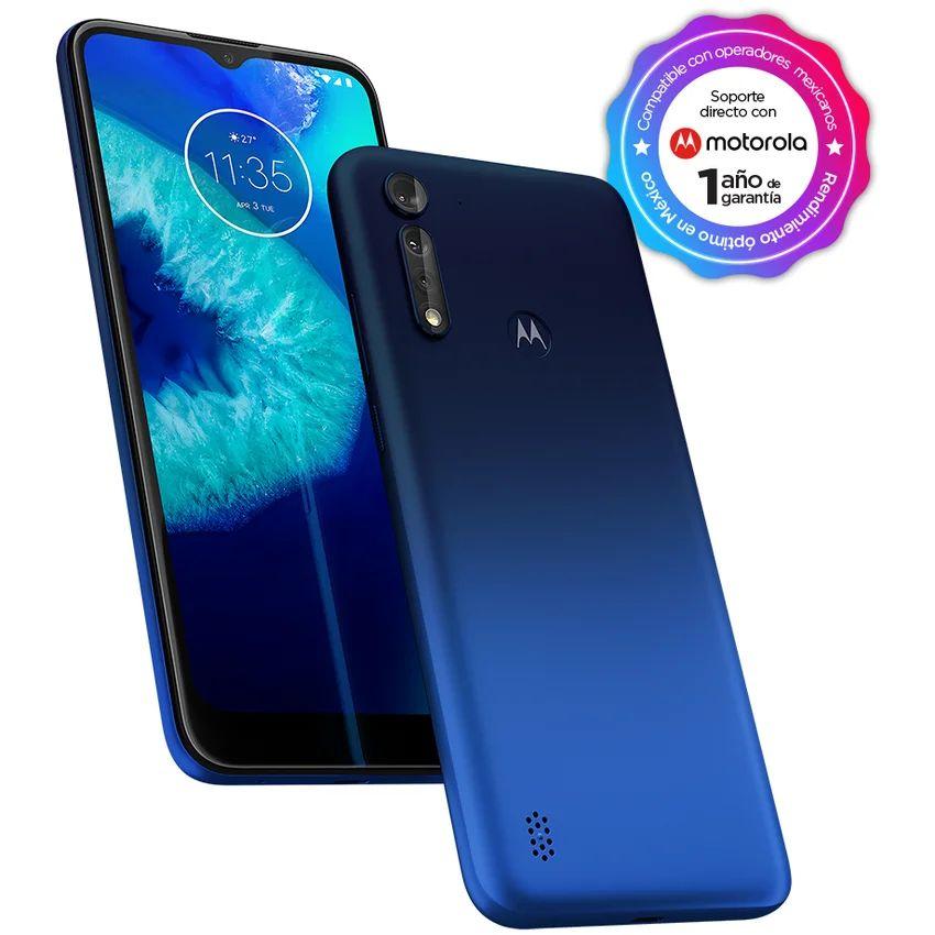 Linio: Celular Motorola Moto G8 Power Lite Azul 4GB + 64GB 5000 MAH (Pagando con paypal y banamex)