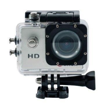 Linio: Cámara Sportcam HD 720P Sumergible 12 Acc PLATA a $599