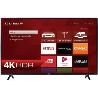 Linio: Pantalla TCL 55 Pulgadas - Modelo 55S425 - Roku TV (BBVA + PayPal)