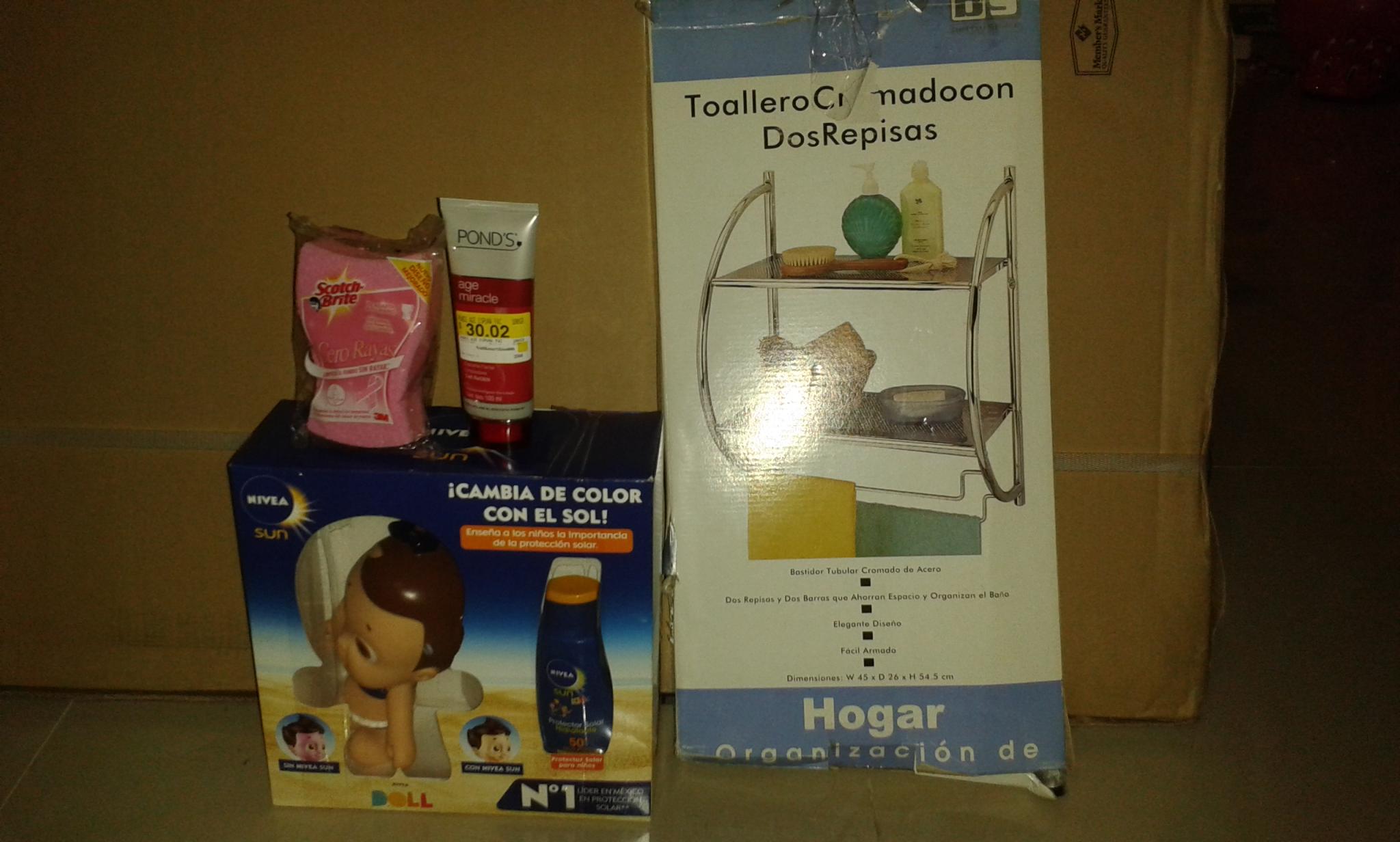 Walmart: Toallero cromado a $35.01 y más