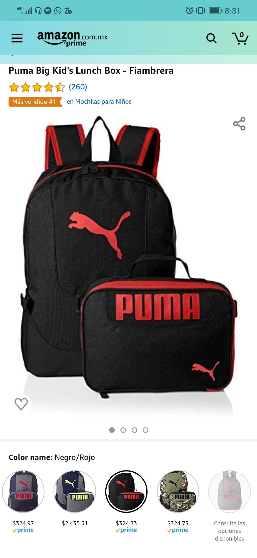 Amazon: Puma Big Kid's Lunch Box - Fiambrera