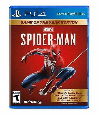 eBay: Spider-Man GOTY PS4