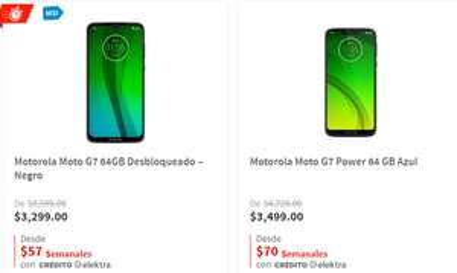 Recopilacion Motorolas Elektra (Con Msi paypal y 10% Bancos)