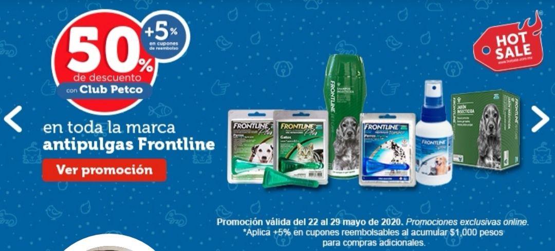 PETCO Oferta frontline 50% online