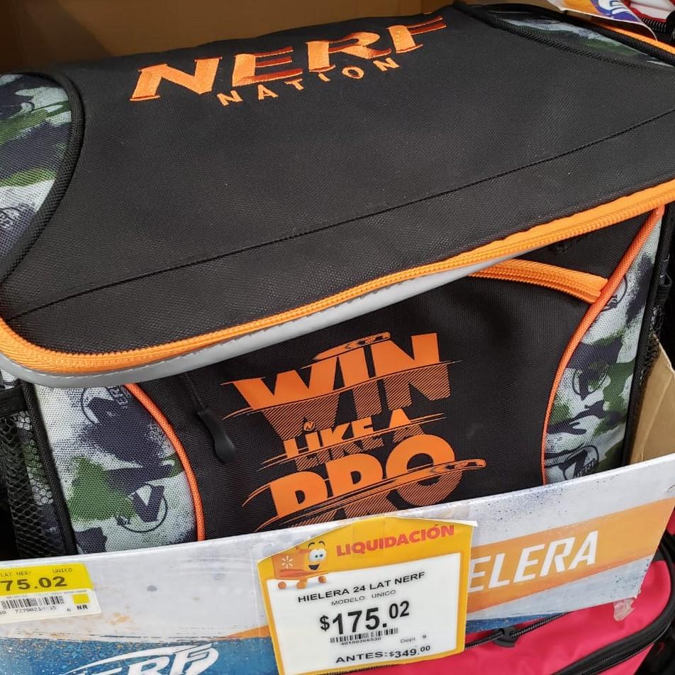 Walmart: Hielera NERF Nation