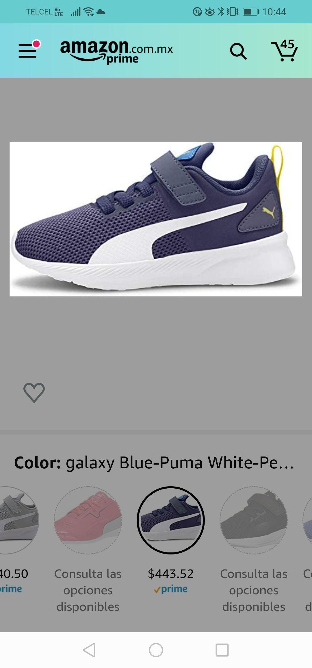 Amazon: PUMA Flyer Runner Velcro Sneaker, Galaxy Blue