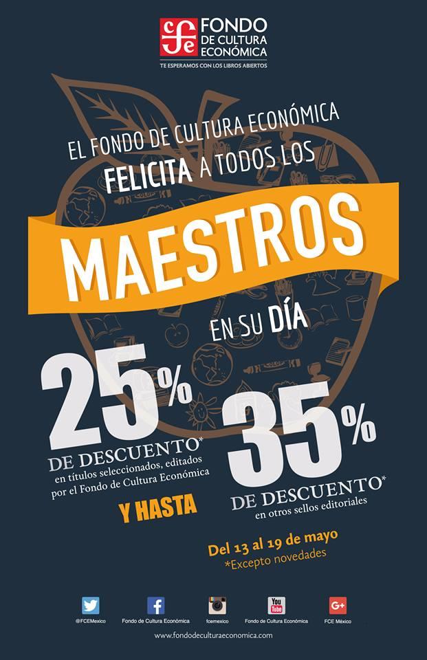 Fondo de Cultura Economia: 25% o 35% en libros