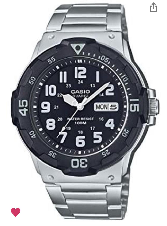 Amazon: reloj Casio de cuarzo, tipo buceo.
