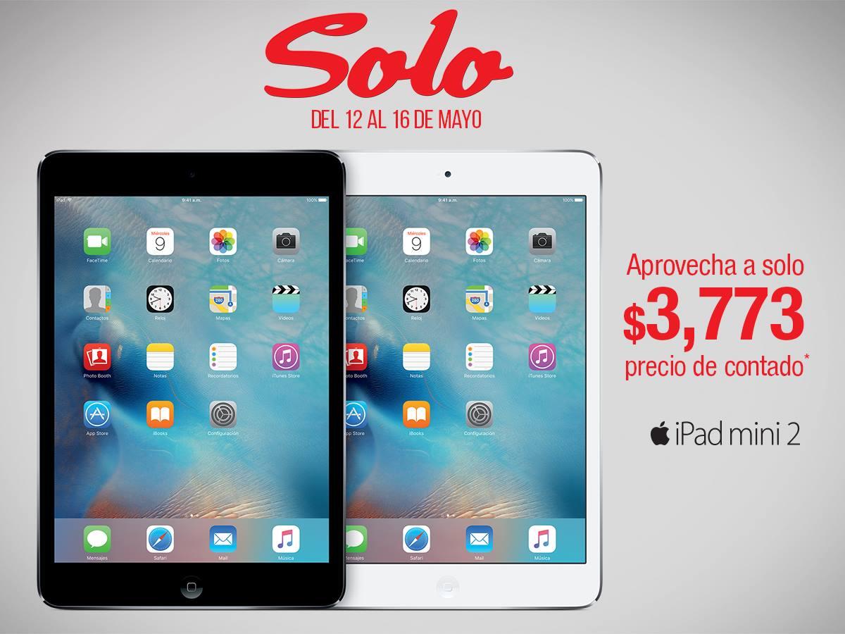 Sanborns tienda física: iPad mini 2 de 16 gb a $3,773