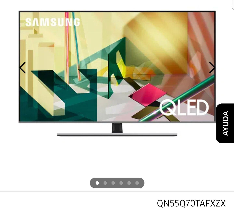 Samsung store: QLED Q70T 55 con BBVA