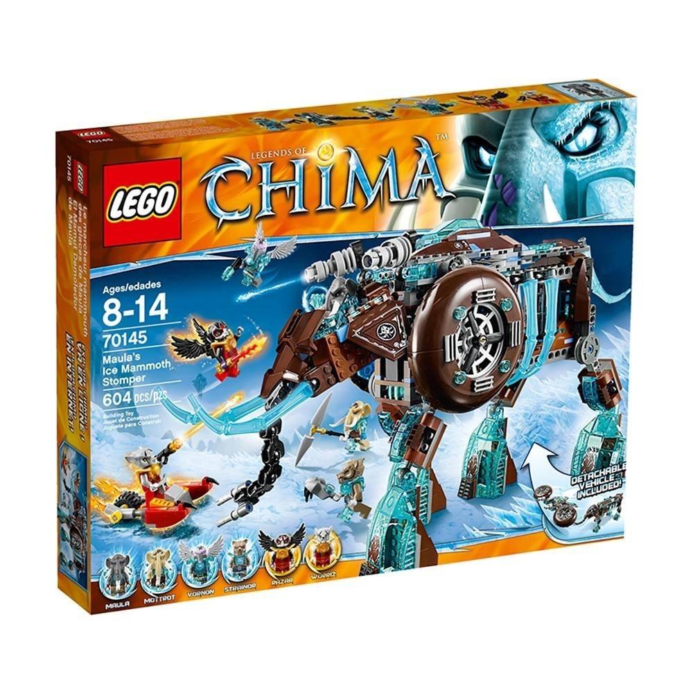 Walmart en Linea: LEGO Legends Of Chima Maula's Ice Mammoth Stomper 70145 con 604 piezas rebajado de $1,349 a $499