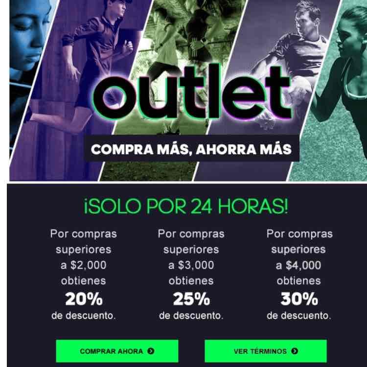 Adidas en línea: Outlet por 24 horas