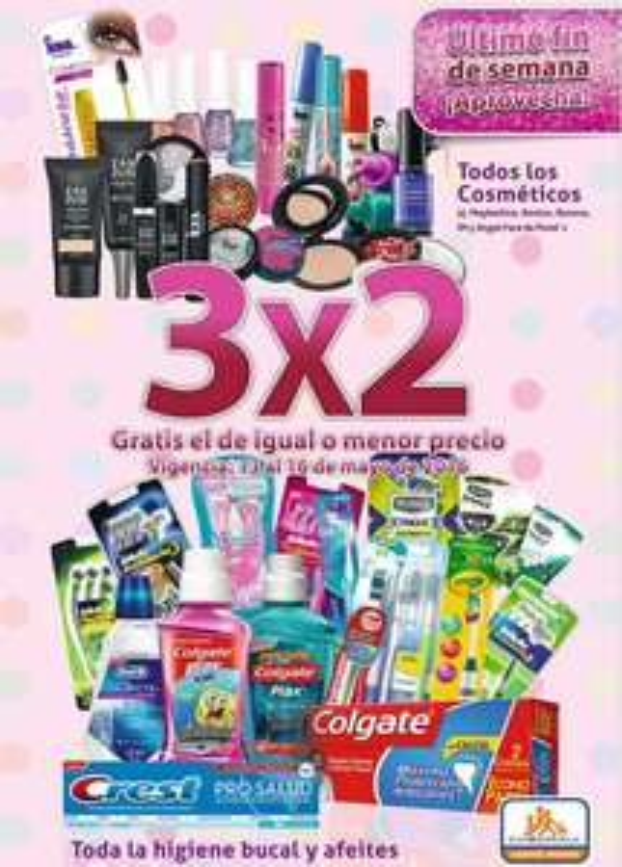 Festival de belleza Chedraui: 3x2 en comséticos, higiene bucal y rastrillos