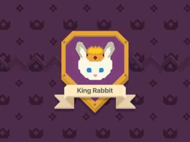 App Store: King Rabbit - como descarga gratuita por tiempo limitado.