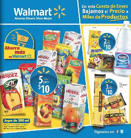 Folleto Walmart: descuentos en desodorantes, detergentes, lavadoras y más