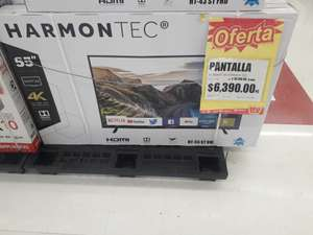 Ley: Pantalla Harmontec 55 4k