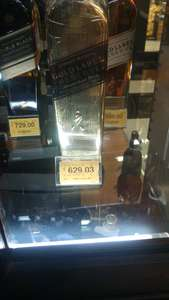 Superama: Johnnie Walker gold label edicion especial a $629.03