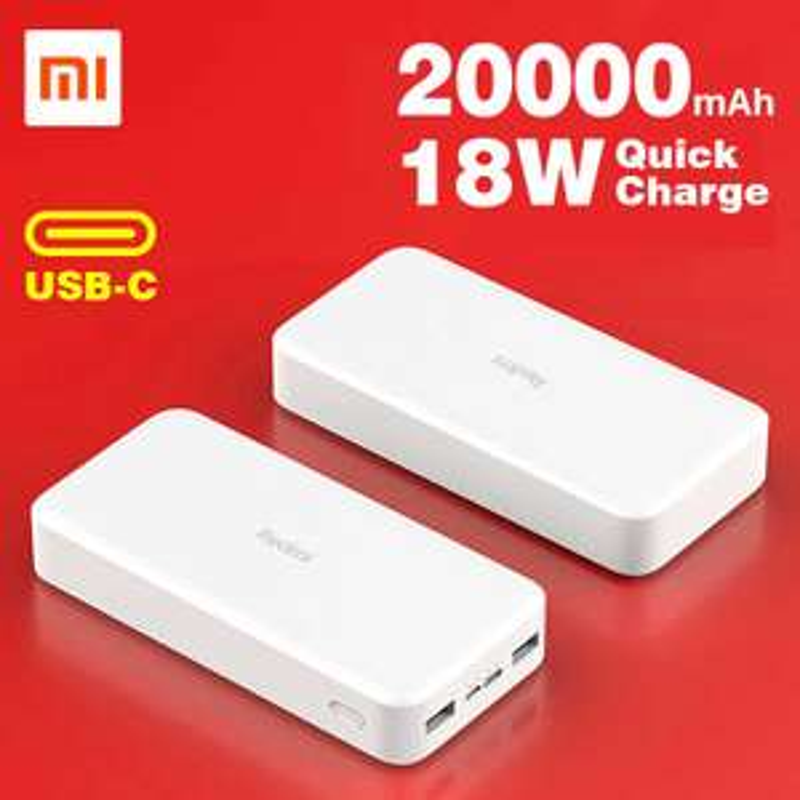 Linio: Power Bank Xiaomi Redmi 20000 mAh 18w Fast Charg USB-C