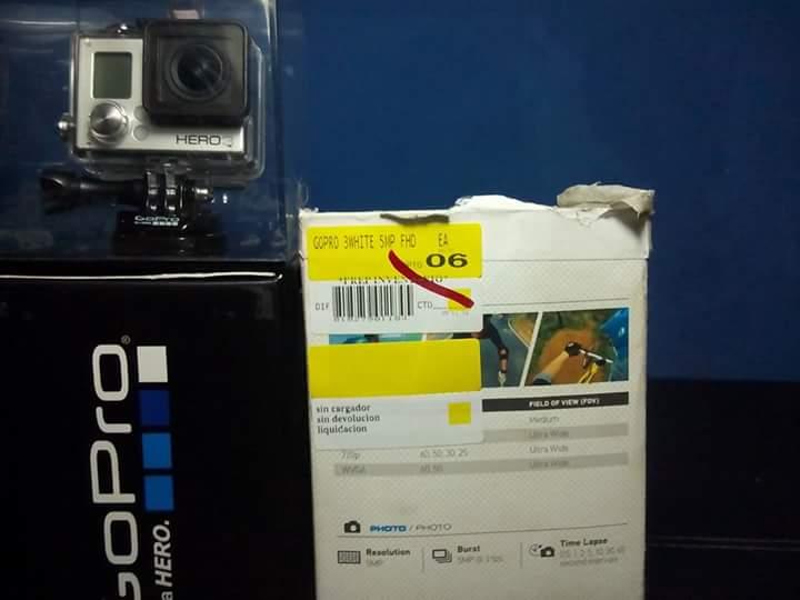 Walmart Mérida Polígono: GoPro Hero 3 white a $399.01