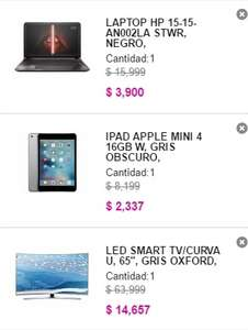 Liverpool en linea: TV, Laptops, Ipads, Macbooks  con el 70% descuento