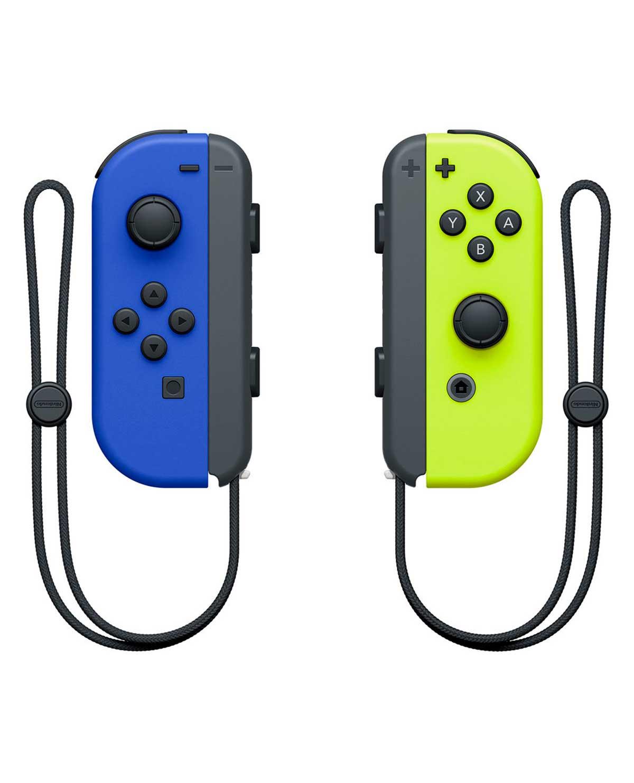 Game planet Joy-con Azul y amarillo neon