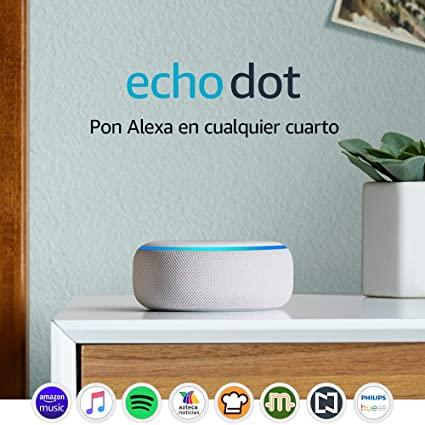 Amazon: Echo Dot (3ra generación) + CUPON SMART PLUG