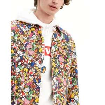 Levi's Linio - Super Mario Vintage Fit Trucker Jacket