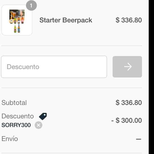 BeerHouse: cupón de $300 sin mínimo de compra