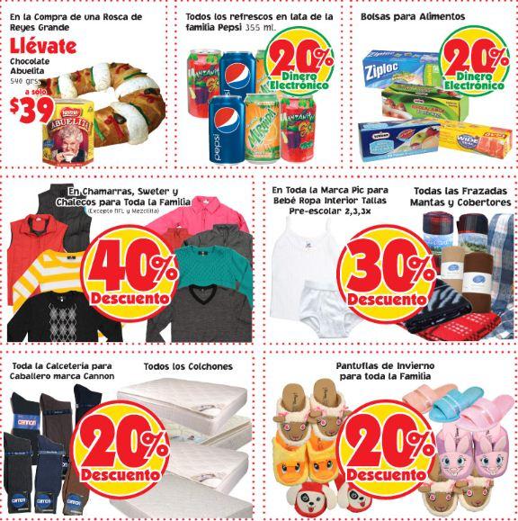 Mercado Soriana: 40% de descuento en chamarras, bonificación en refrescos y más