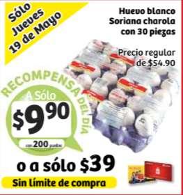 Soriana: ofertas de tarjeta de lealtad 17-19 de mayo + ofertas de frutas