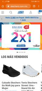 HOT SALE: 2x1 página Skechers