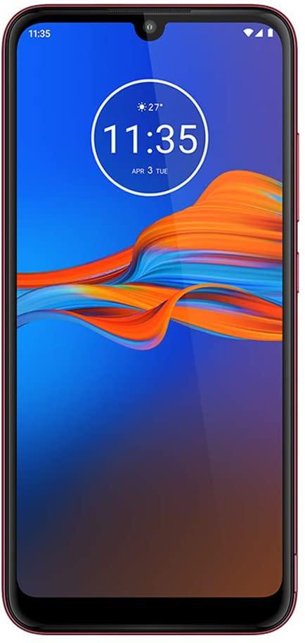 Amazon: Motorola Moto E6 plus 4+64 XT-2025-1 (4+64), Arándano