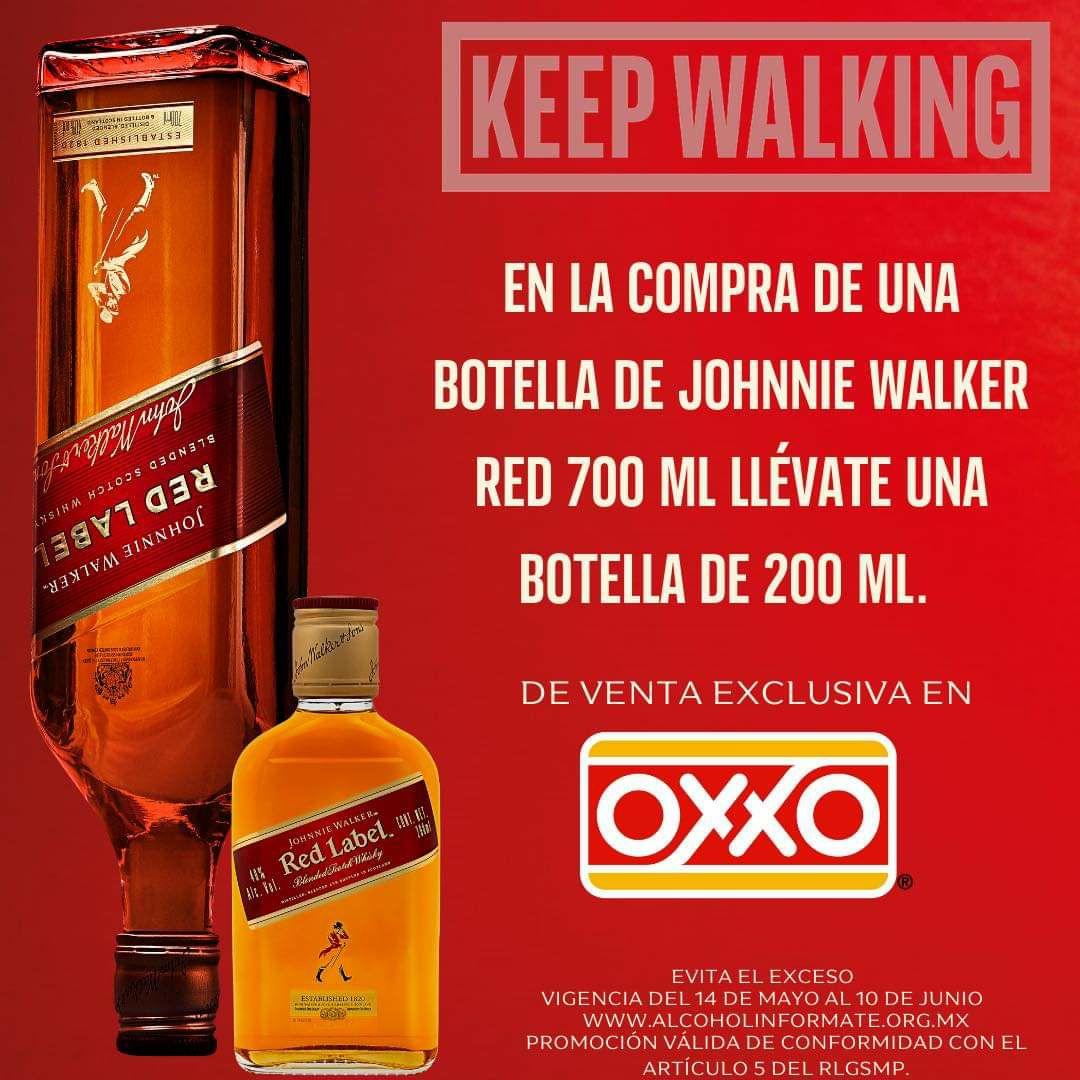 Oxxo Red Label 200 Ml GRATIS En La Compra De Botella Normal (700 ml)