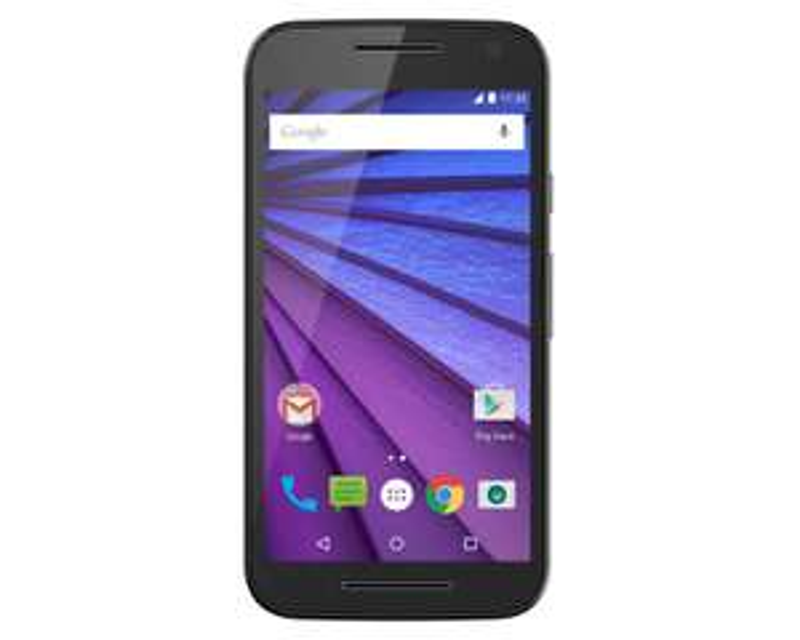 Coppel en línea: Iusacell Motorola Moto G3 Negro a $3,199