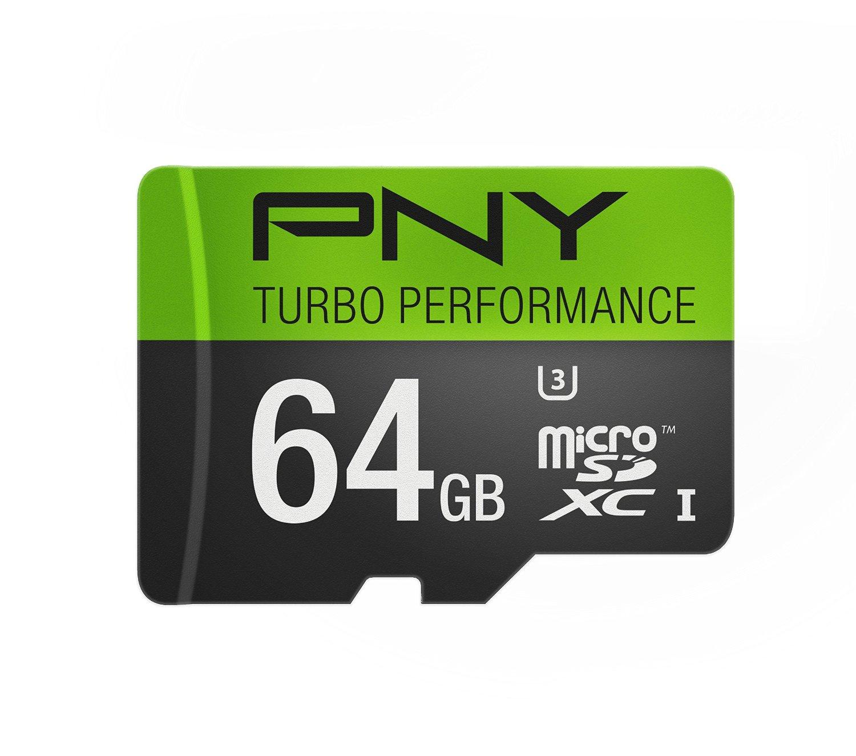 Amazon MX: MicroSD PNY 64GB Clase U3, 90MB/s a $370