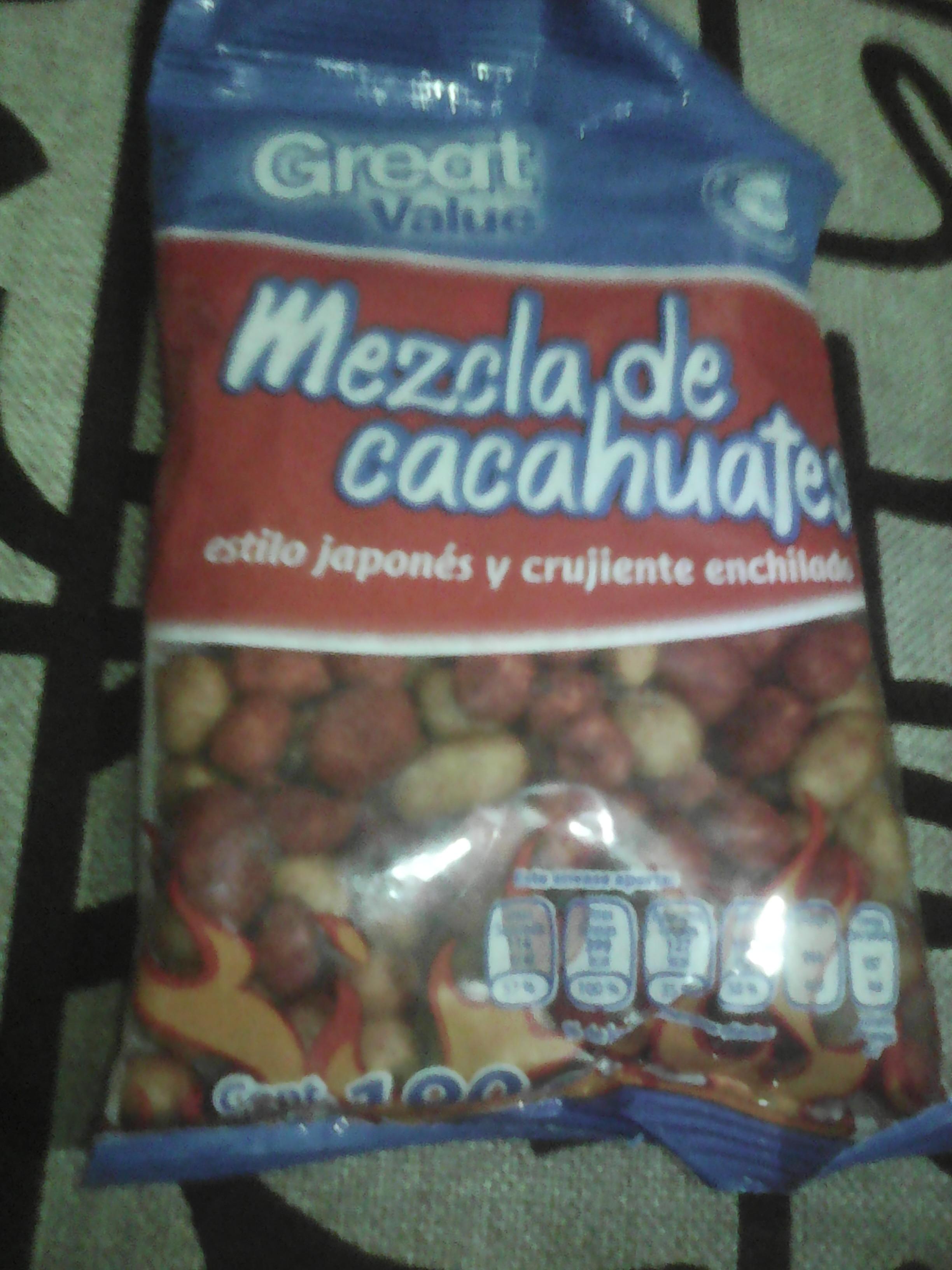 Walmart Hospital General: cacahuates de 190g a $5