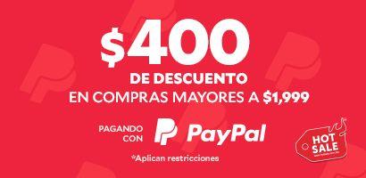 Innovasport: $400 de descuento pagando con Paypal
