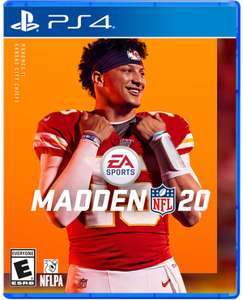Amazon: Madden NFL 20 - Standard Edition - PlayStation 4