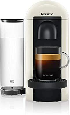 Amazon: Cafetera Nespresso Vertuo plus Blanca