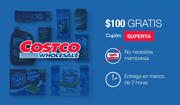 Mercadoni: $100 de descuento comprando en Costco online (sin membresía)