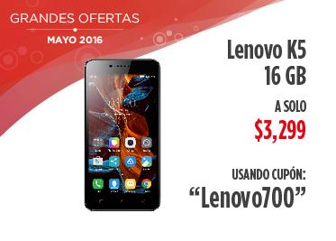 Elektra en línea: Lenovo K5 con descuento de $700