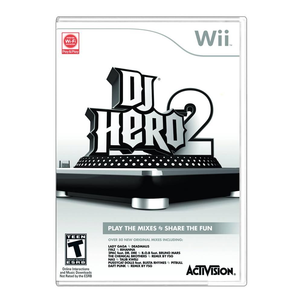 Walmart en línea: DJ Hero 2 P/Wii $49.00, estuches cámara de $199 en $39, libros desde $23