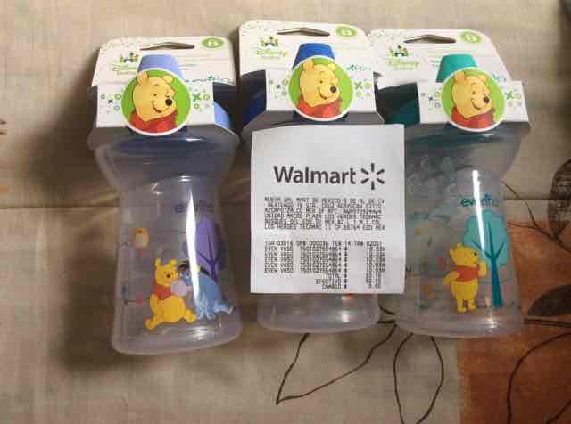 Walmart: Vaso entrenador Evenflo a $10.03