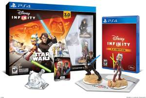 Amazon: Disney Infinity 3.0 Starter Pack (Star Wars) PS4