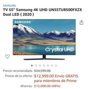 Amazon hot sale TV Samsung serie 8500 $10,399 con Citibanamex